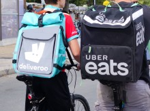 deliveroo and ubereats drivers