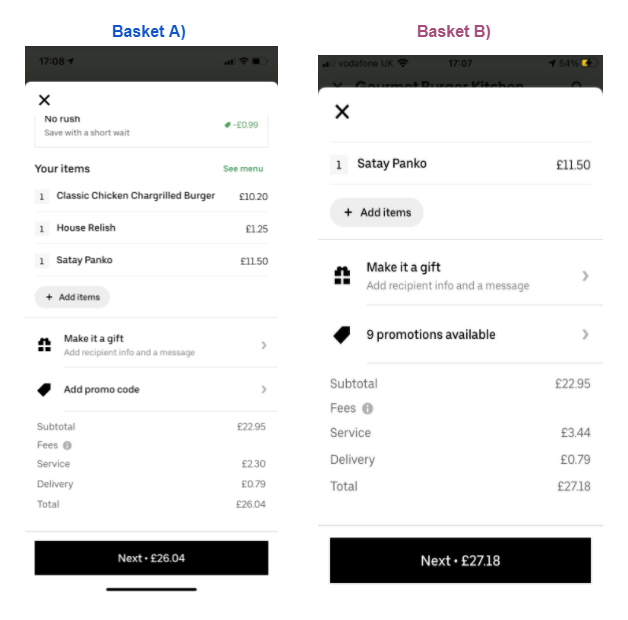 ubereats delivery fee